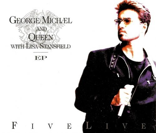 GEORGE MICHAEL AND QUEEN Five Live EP CD Single Parlophone 1993